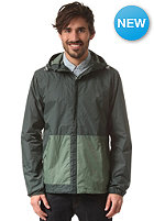 VOLCOM Slango Colorblock Windbreaker Jacket cedar green