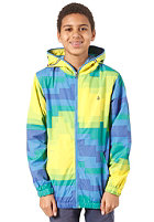 VOLCOM Sonrisa Windbreaker Jacket yellow
