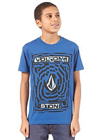 VOLCOM Splice S/S T-Shirt marina blue