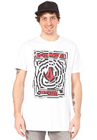 VOLCOM Splice S/S T-Shirt white