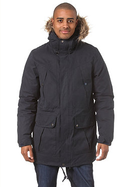 VOLCOM Spokane Military Parka Jacket 2013 dark navy