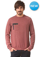 VOLCOM Sprocket Pocket Crew Sweat burnt sienna