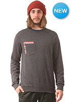 VOLCOM Sprocket Pocket Crew Sweat heather black