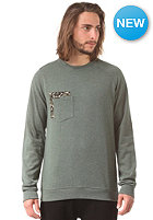 VOLCOM Sprocket Pocket Crew Sweat jungle green