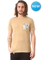 VOLCOM Sprocket Pocket S/S T-Shirt oil yellow