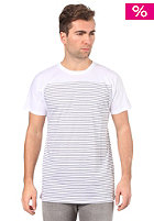 VOLCOM Square Stripe S/S T-Shirt white