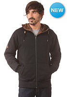 VOLCOM Standard Sherpa Lined Hooded Zip Sweat black