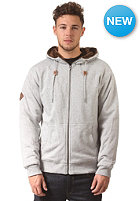 VOLCOM Standard Sherpa Lined Hooded Zip Sweat heather grey