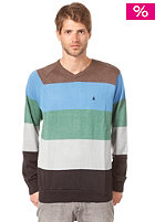 VOLCOM Standard Stripe Sweatshirt green