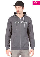 VOLCOM Stencil Slim Hooded Zip Sweat grey