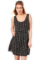 VOLCOM Stephanie Cherry Love Dress black combo