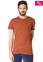 VOLCOM Stone Alone Lightweight S/S T-Shirt bear brown