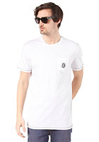 VOLCOM Stone Alone Pocket S/S T-Shirt white