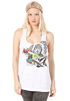 VOLCOM Stone Back Shape Tank Top white