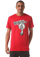 VOLCOM Stone Hum S/S T-Shirt blood red