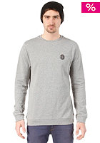 VOLCOM Stone Journey Crew Fleece Sweat Heathergrey