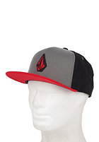 VOLCOM Stone Snapback Cap drip red