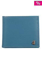 VOLCOM The Badge Leather S Wallet vintage blue