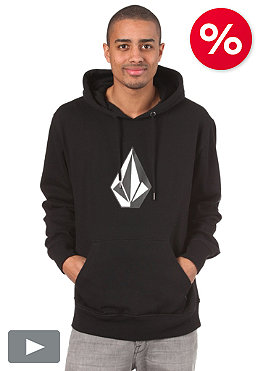 VOLCOM The Stone Basic Hooded Sweat black