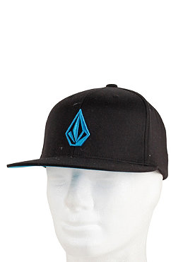 VOLCOM The Stone Flex Fit Cap black/bright blue
