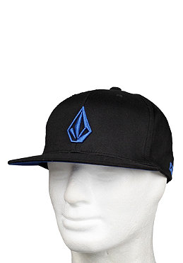 VOLCOM The Stone J Fit Flexfit Hat blue/black