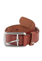 VOLCOM Thrift Leather Belt brown