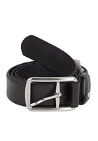 VOLCOM Thrift Leather Belt tinted black