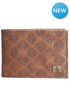 VOLCOM Tim Lthr Wallet brown