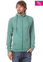 VOLCOM Timemachine Ultraslim Hooded Zip Sweat blue green wash