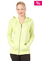 VOLCOM Timesoft Hooded Zip Sweat Fleece lime