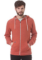 VOLCOM Timesoft Slim Hooded Zip Sweat maple