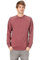 VOLCOM Timesoft Ultra Slim Crew Sweat cabernet
