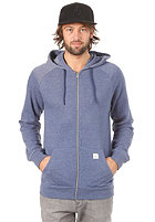VOLCOM Timesoft Ultra Slim Hooded Zip Sweat army blue