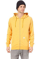VOLCOM Timesoft Ultra Slim Hooded Zip Sweat curry