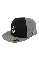 VOLCOM Too Stone 210 Fitted Cap charcoal heather