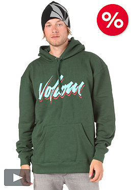 VOLCOM Tri Brush Classic Hooded Sweat pine