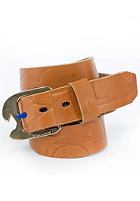VOLCOM Typo Leather Belt brown