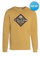 VOLCOM Upside Crew Sweat spice gold