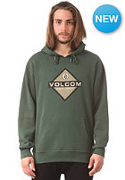 VOLCOM Upside Hooded Fleece Sweat jungle green