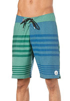 VOLCOM V4S Heather Stripe Shorts blue green