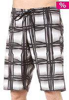 VOLCOM V4S Wavey Plaid Shorts grey