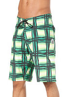 VOLCOM V4S Wavey Plaid Shorts scrubs green europe