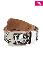 VOLCOM Volage Leather Belt white