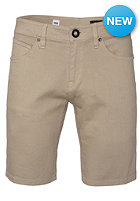 VOLCOM Vorta Colored Denim Short drill khaki