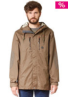 VOLCOM Waxed Insulated Jacket teak