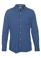 VOLCOM Weirdoh Mini Check L/S Shirt true blue