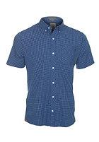VOLCOM Weirdoh Mini Check S/S Shirt true blue