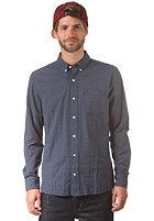 VOLCOM Weirdoh Minicheck L/S Shirt dusty blue