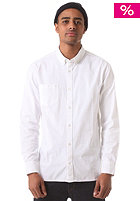 Weirdoh Oxford L/S Shirt white