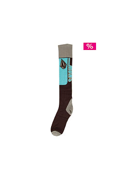 VOLCOM Wells Coolmax Socks 2012 brown